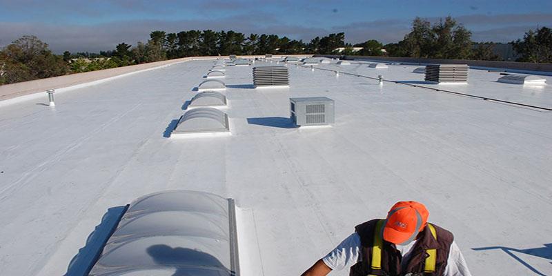 انواع روشهای آب بندی پشت بام