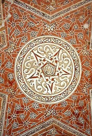 نمای داخلی گنبد سلطانیه